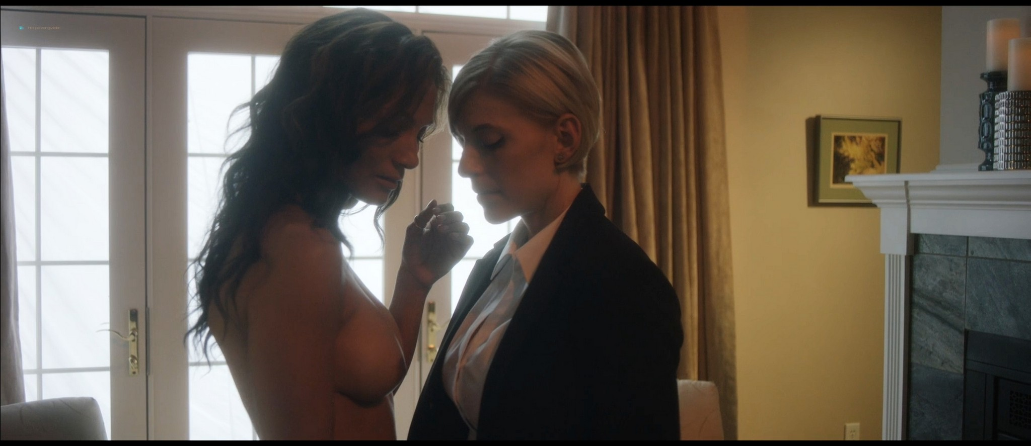 Melanie Brockmann Gaffney nude lesbian sex with Marem Hassler - Russian Doll (2016) HD 1080p Web (6)