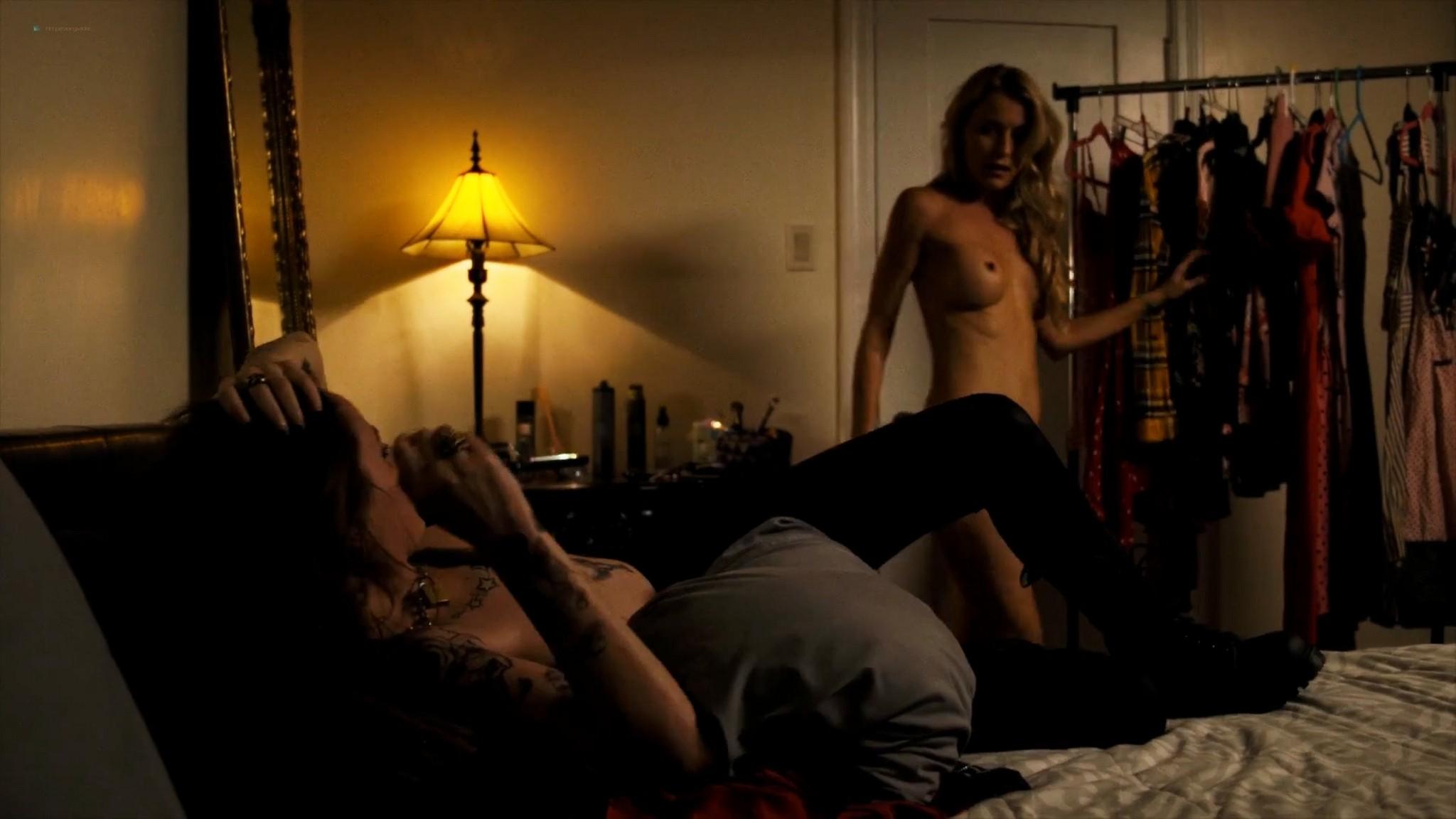 Sadie Katz nude lesbian sex with Victoria De Mare - Hanukkah (2019) HD 1080p Web (14)