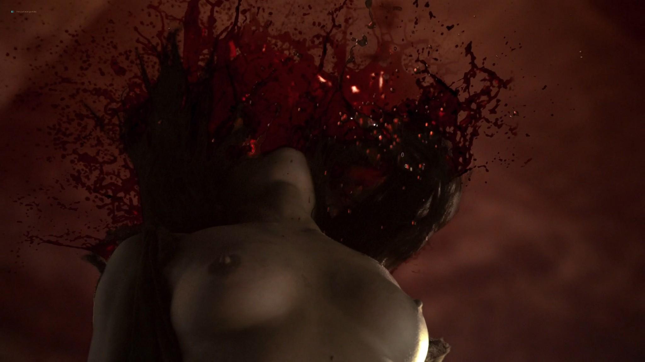 Lucy Lawless nude sex Erin Cummings, Aria Dickson nude too - Spartacus - Sacramentum Gladiatorum (2010) s1e2 HD 1080p (10)