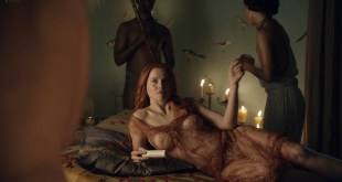 Lucy Lawless nude sex Erin Cummings, Aria Dickson nude too - Spartacus - Sacramentum Gladiatorum (2010) s1e2 HD 1080p (7)