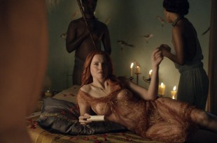 Lucy Lawless nude sex Erin Cummings, Aria Dickson nude too - Spartacus - Sacramentum Gladiatorum (2010) s1e2 HD 1080p (7)