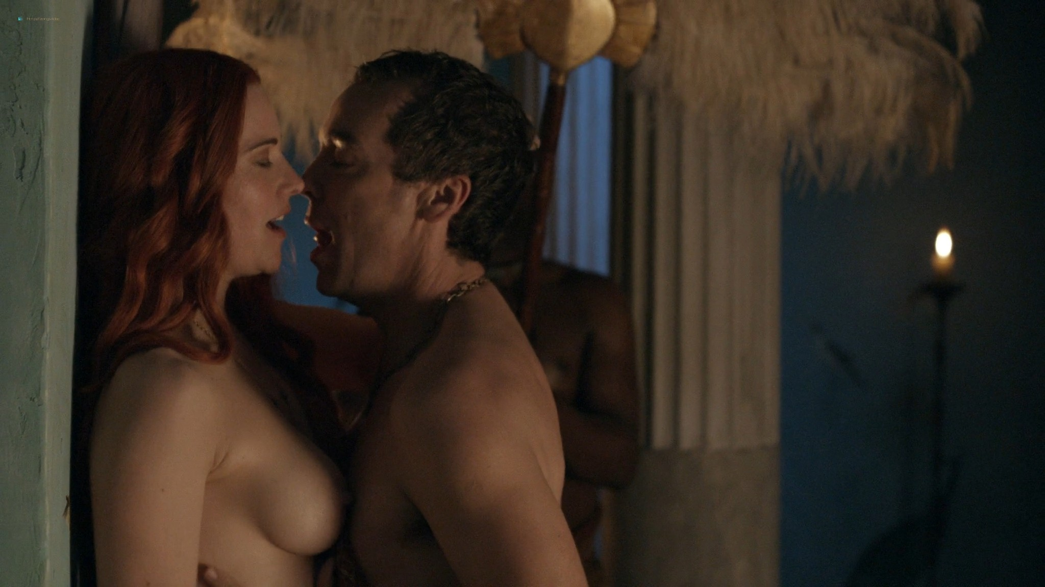 Lucy Lawless nude sex Erin Cummings, Aria Dickson nude too - Spartacus - Sacramentum Gladiatorum (2010) s1e2 HD 1080p (5)