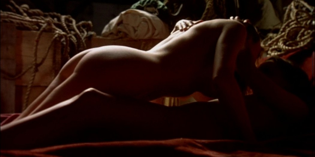Pascale Bussières nude lesbian sex with Rachael Crawford - When Night Is Falling (1995) (2)