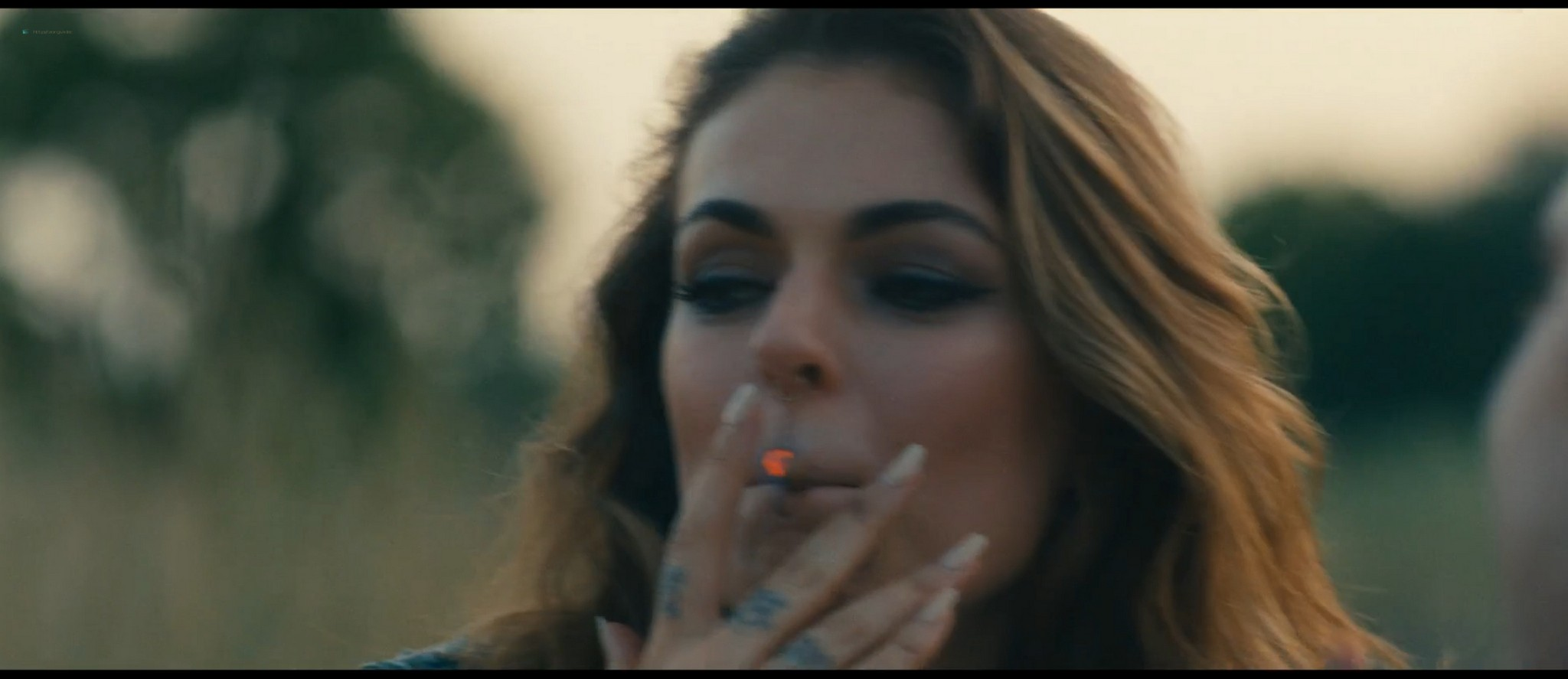 Serinda Swan hot and some sex - Revenge Ride (2020) HD 1080p Web (8)