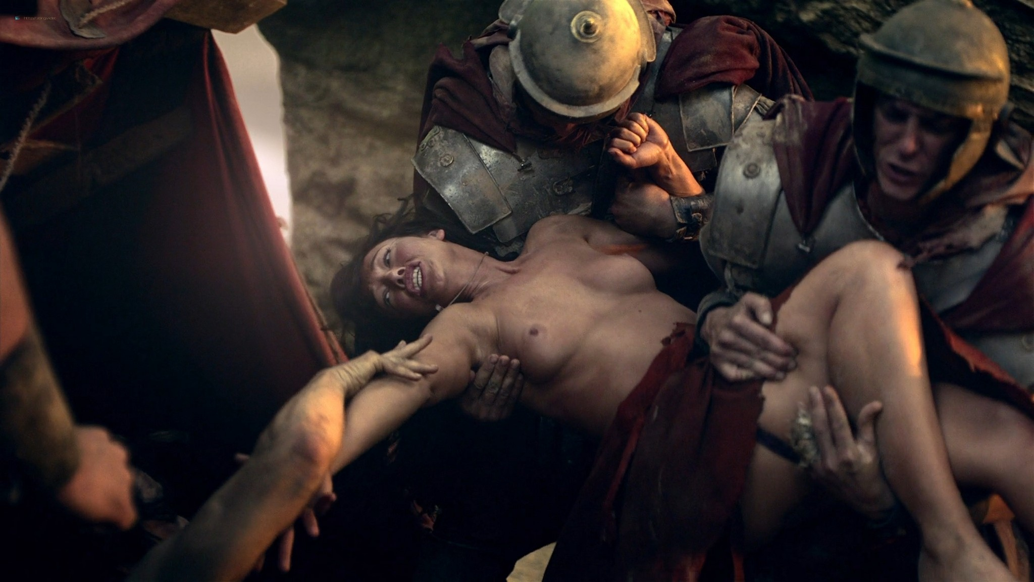 Viva Bianca nude full frontal Erin Cummings and others nude - Spartacus -The Red Serpent (2010) HD 1080p BluRay (7)