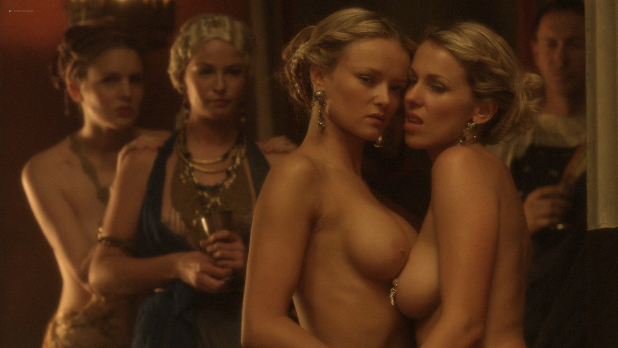 Viva Bianca nude full frontal Erin Cummings and others nude - Spartacus -The Red Serpent (2010) HD 1080p BluRay (2)