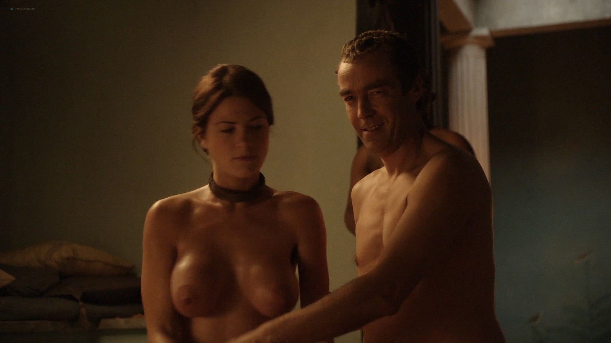 Lucy Lawless nude Lesley-Ann Brandt and other nude sex too - Spartacus (2010) Delicate Things s1e6 HD 1080p BluRay (13)
