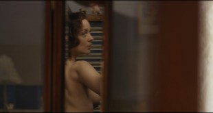 Marion Cotillard nude side boob and sex in the car - Allied (2016) HD 1080p BluRay (14)