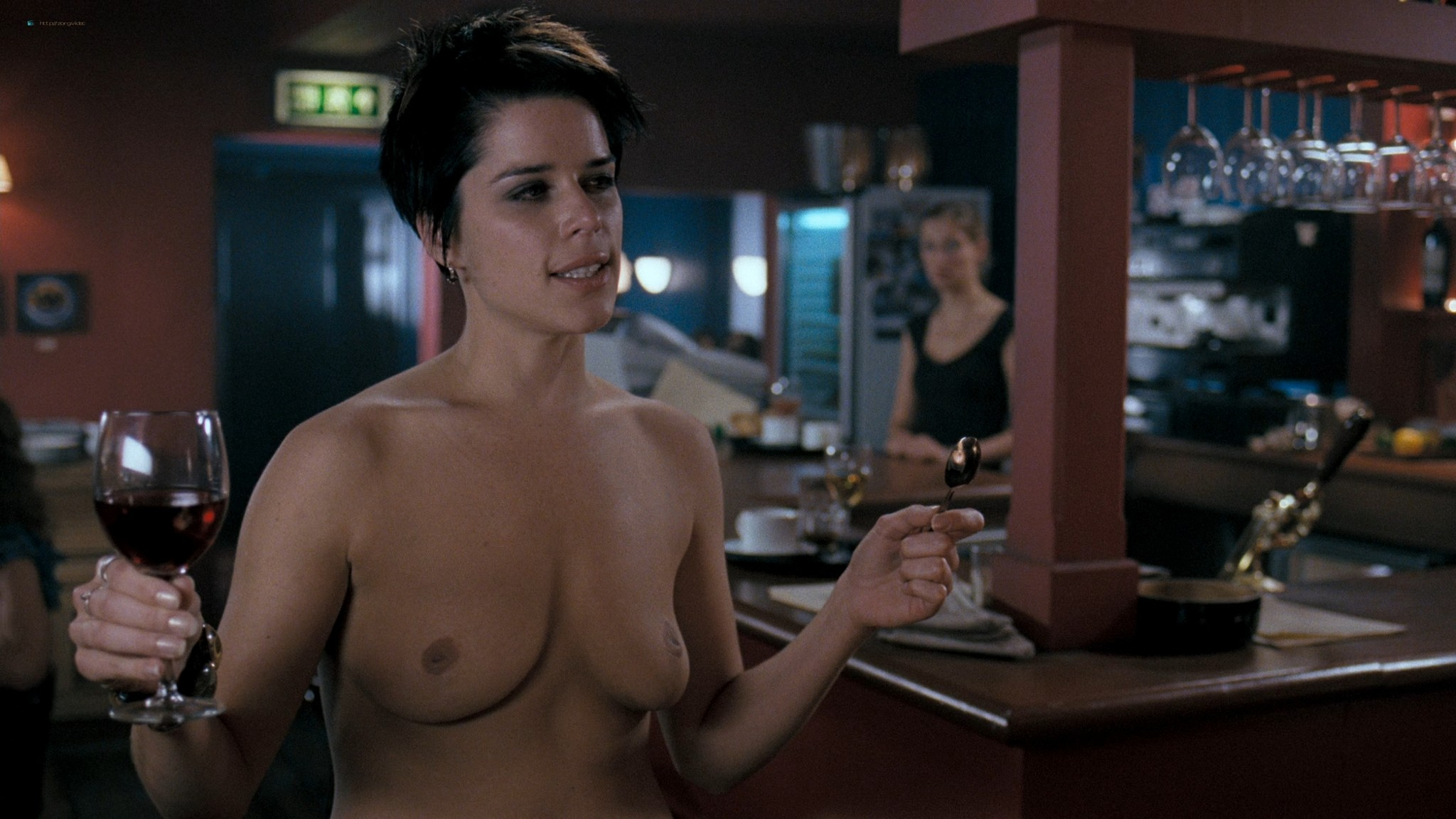 Neve Campbell nude butt and topless - I Really Hate My Job (2007) HD 1080p Web (7)