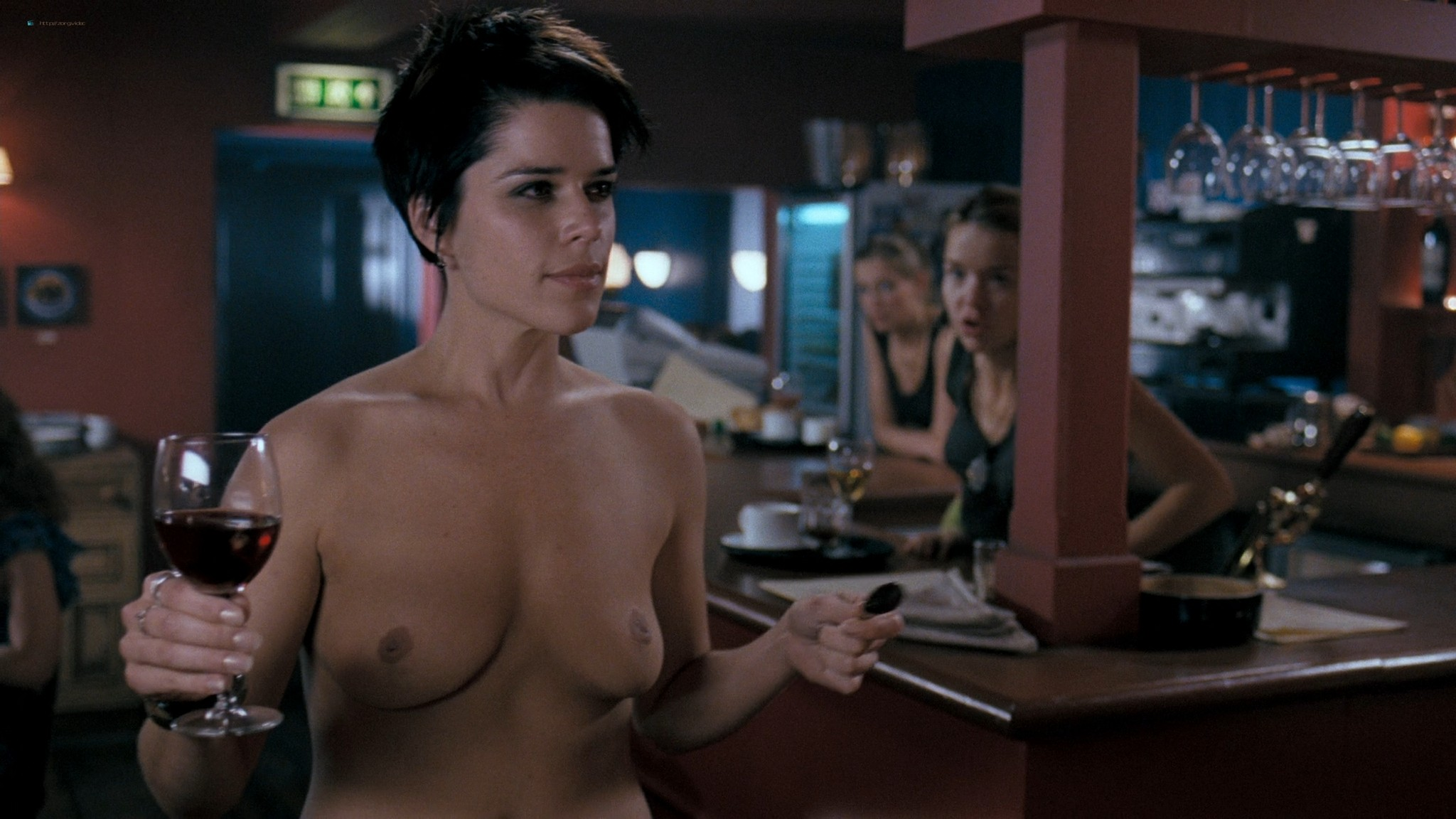 Neve Campbell nude butt and topless - I Really Hate My Job (2007) HD 1080p Web (6)