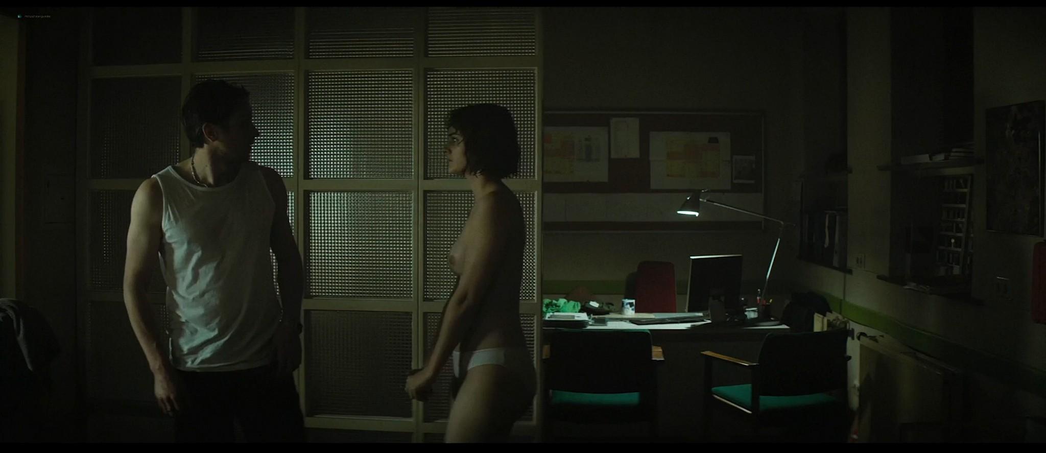Noémie Merlant nude bush, topless and sex - Jumbo (FR-2020) HD 1080p Web (7)