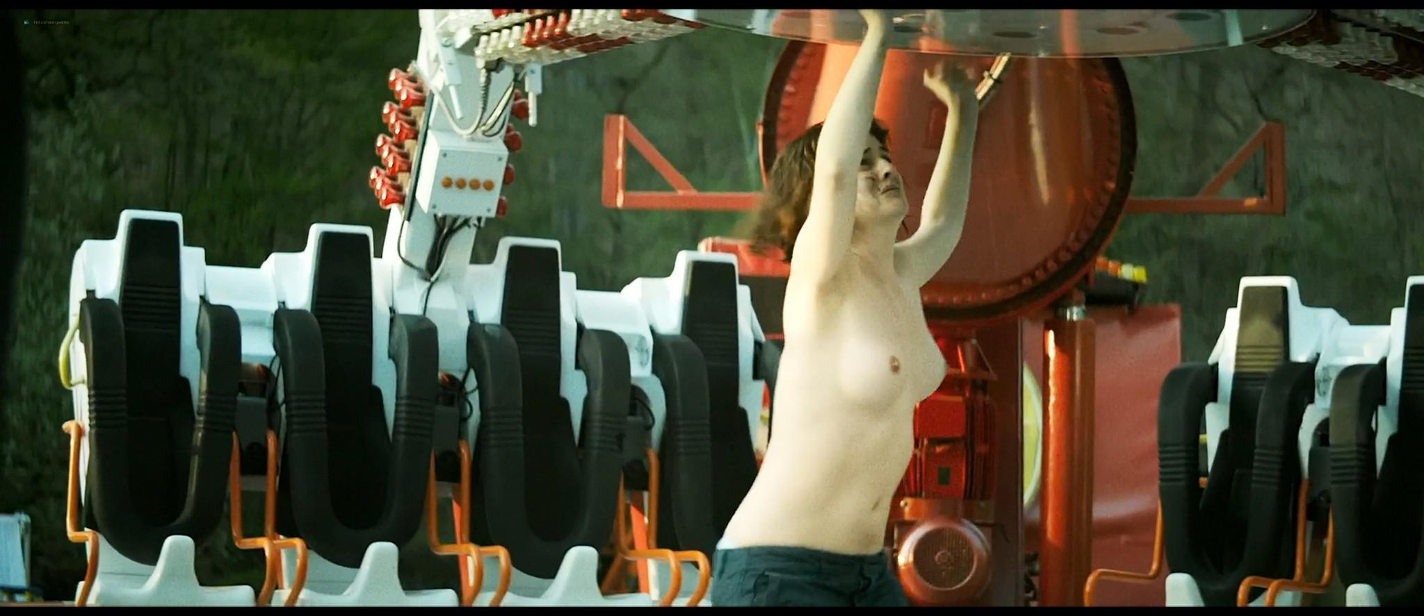 Noémie Merlant nude bush, topless and sex - Jumbo (FR-2020) HD 1080p Web (2)