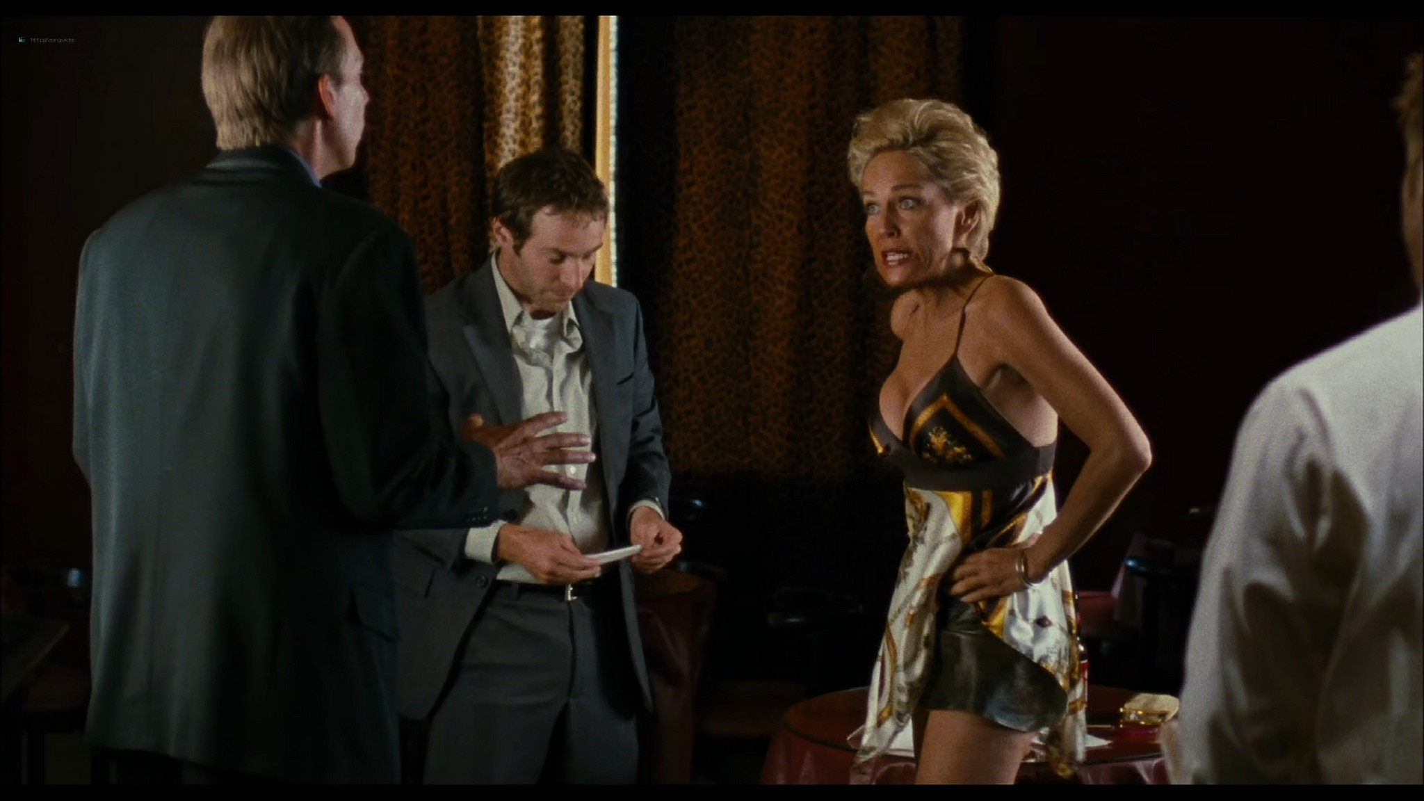 Sharon Stone hot and sexy - Five Dollars a Day (2008) HD 1080p BluRay (6)
