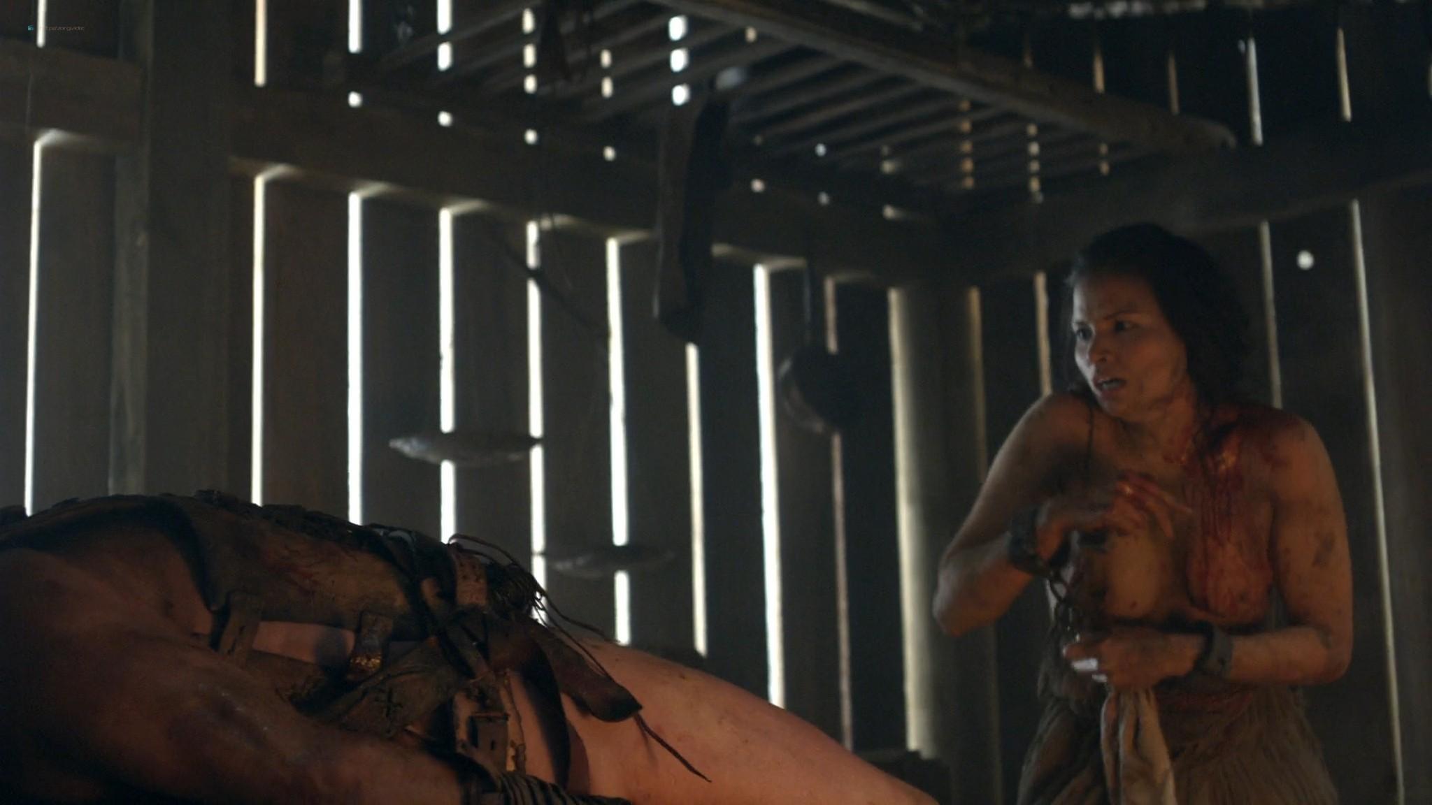 Viva Bianca nude topless Katrina Law, Bonnie Sveen, etc -Spartacus - Vengeance (2012) e3 1080p (2)