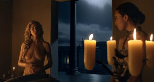 Viva Bianca nude topless Lucy Lawless, Katrina Law, and others nude too -Spartacus - Vengeance (2012) e1 1080p (20)