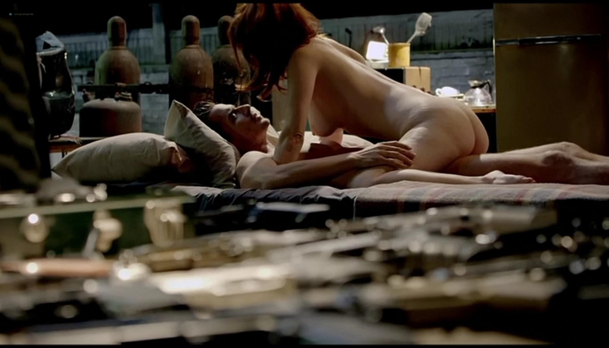 Diana Gettinger nude sex Moniqua Plante nude lesbian - Femme Fatales (2012) s2e2 - Gun Twisted (8)