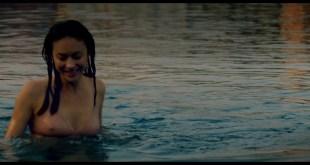 Olga Kurylenko wet see-through and sexy - The Bay Of Silence (2020) HD 1080pWeb