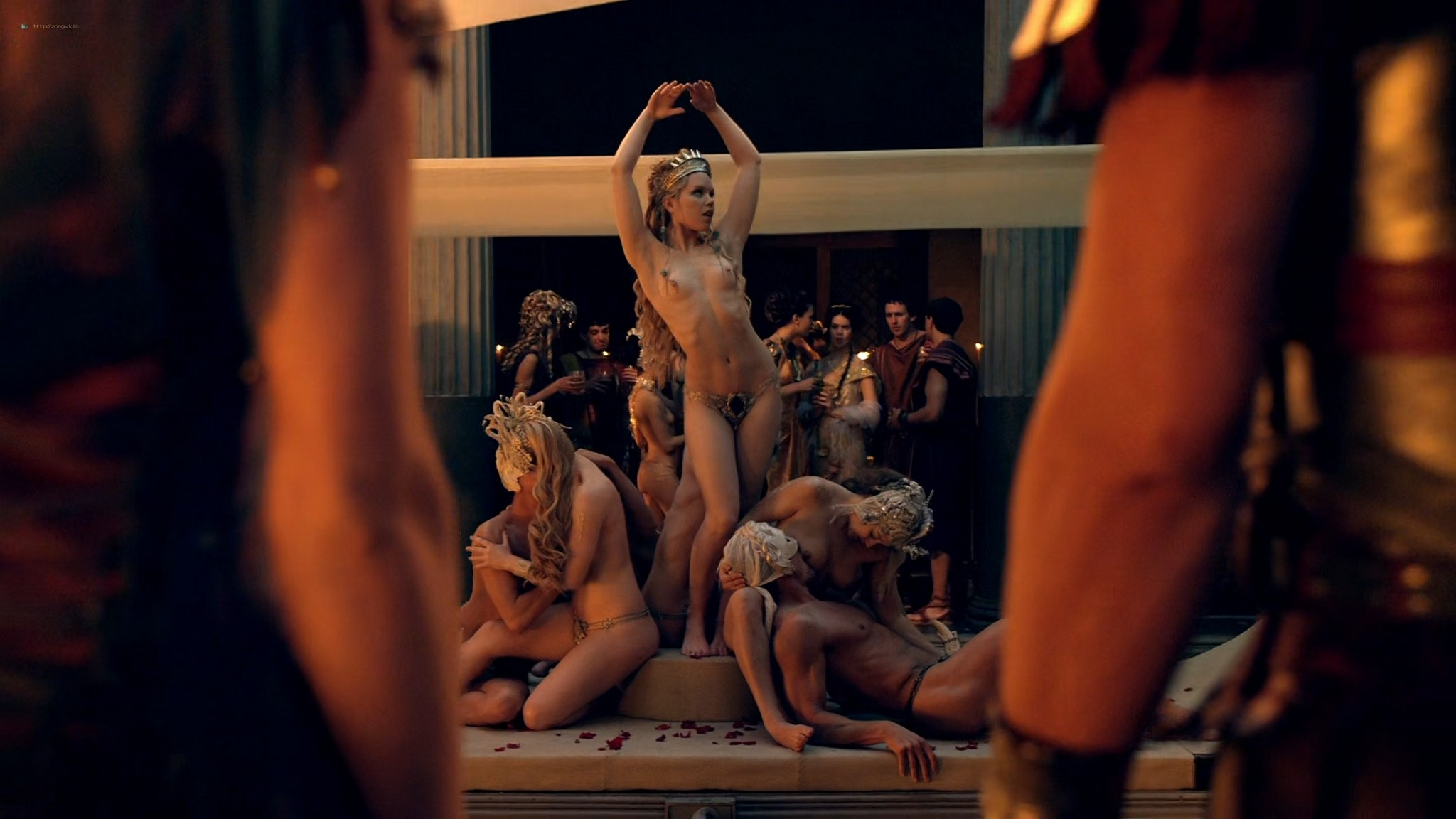 Viva Bianca nude Lucy Lawless nude sex others nude - Spartacus - Vengeance (2012) e4 1080p BluRay (13)