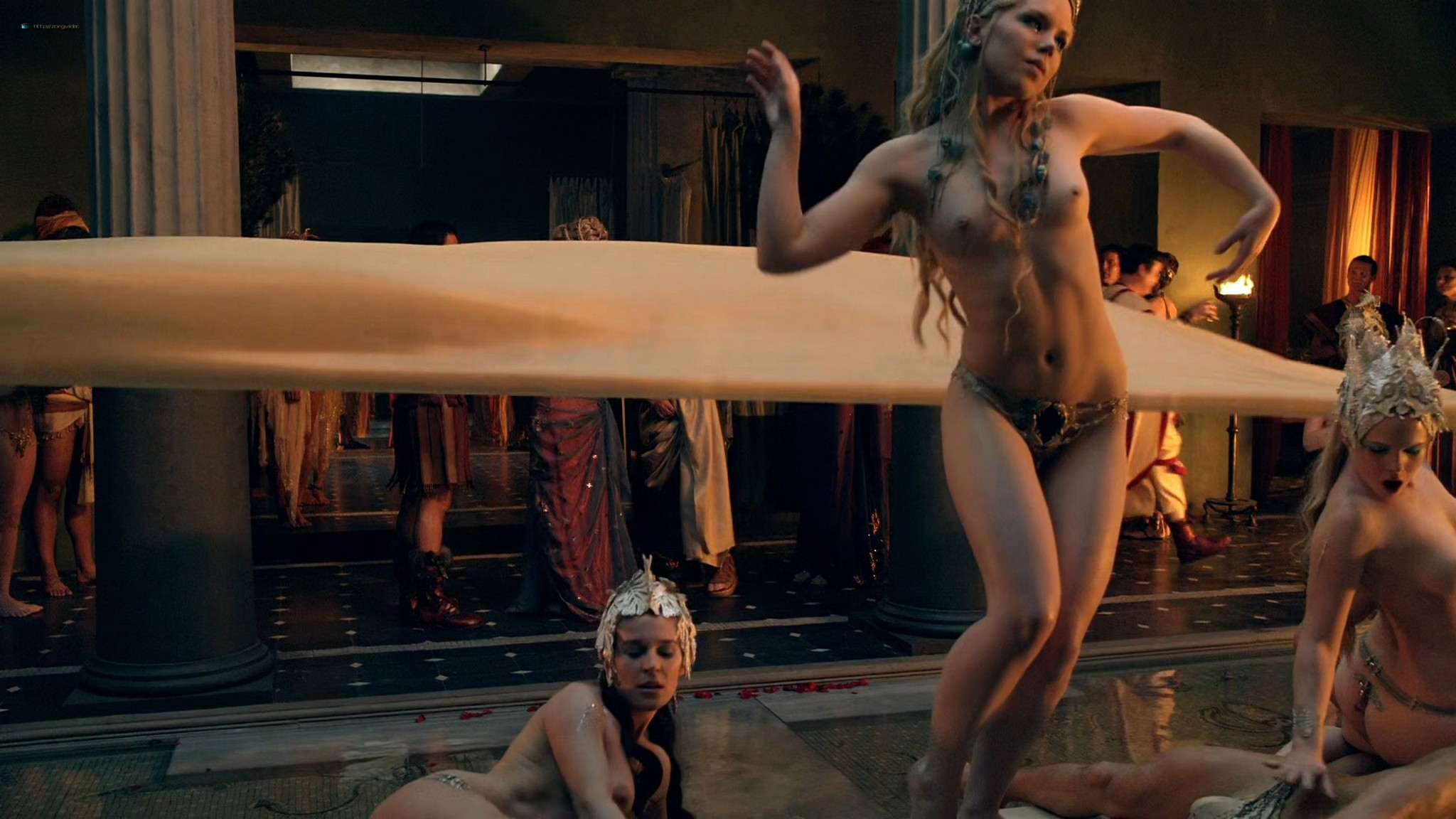 Viva Bianca nude Lucy Lawless nude sex others nude - Spartacus - Vengeance (2012) e4 1080p BluRay (9)