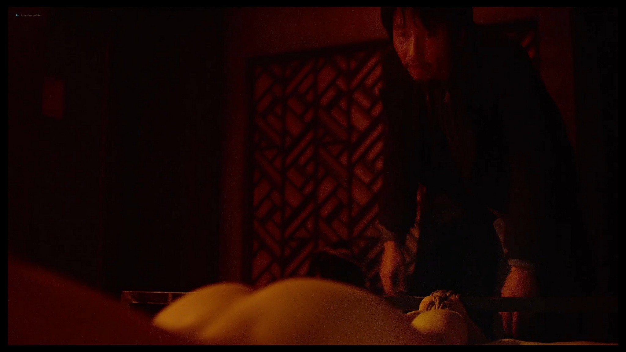 Alexandra Daddario nude butt and topless Lost Girls and Love Hotels 2020 HD 1080p Web 021