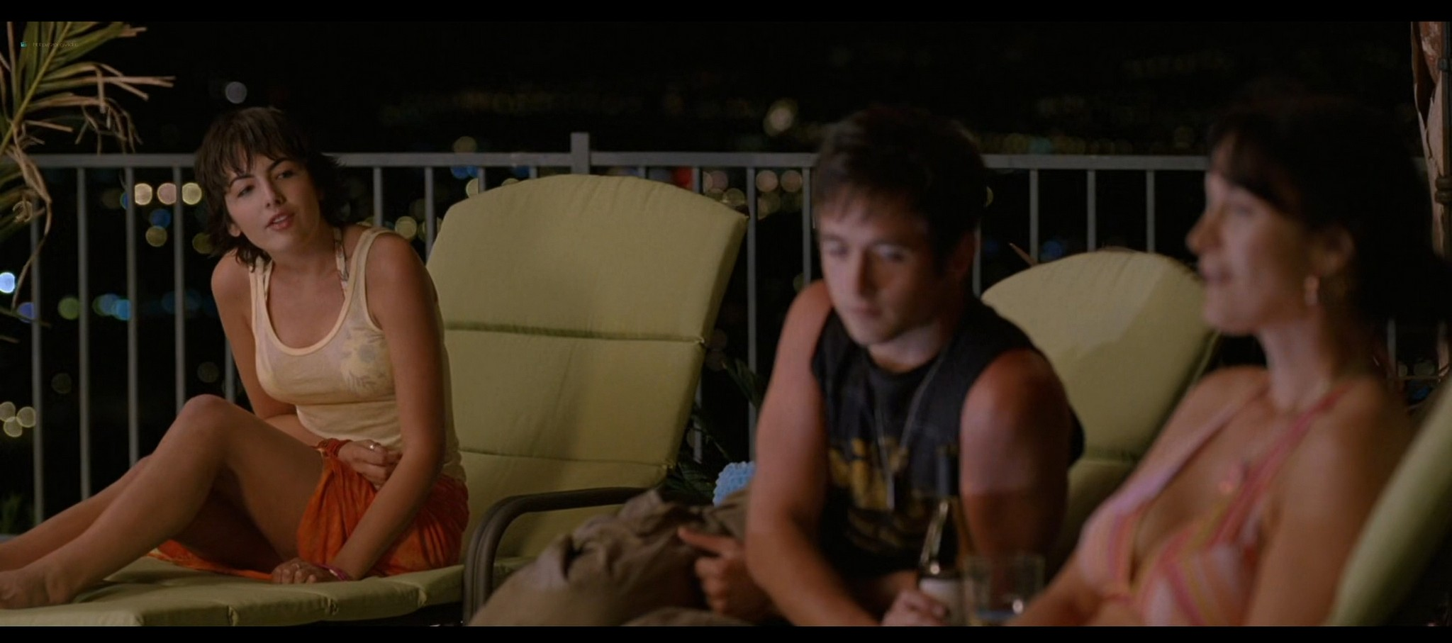 Carrie Anne Moss hot in bikini and Camilla Belle sexy The Chumscrubber 2005 HD 1080p 007