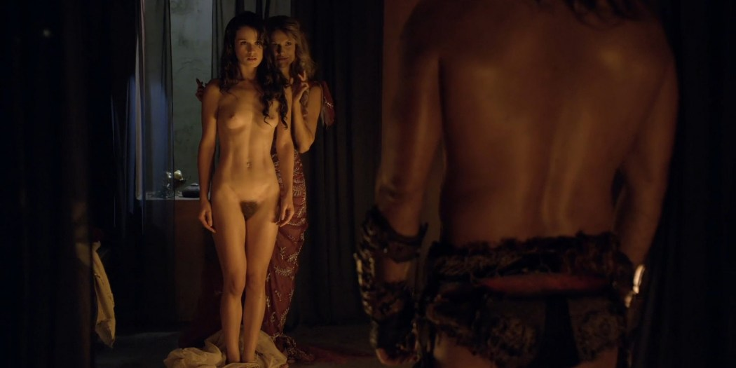 Gwendoline Taylor nude full frontal Jenna Lind Ellen Hollman and others nude sex too Spartacus 2013 HD 1080p BluRay 002