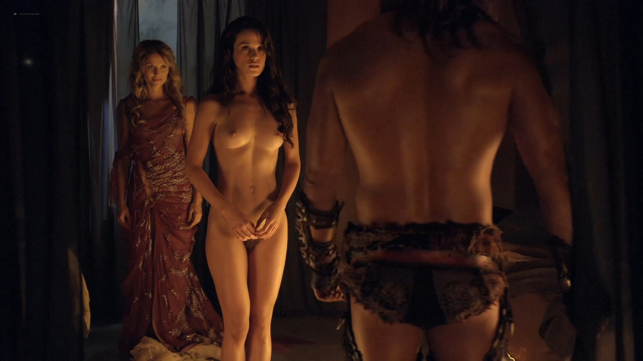 Gwendoline Taylor nude full frontal Jenna Lind Ellen Hollman and others nude sex too Spartacus 2013 HD 1080p BluRay 004