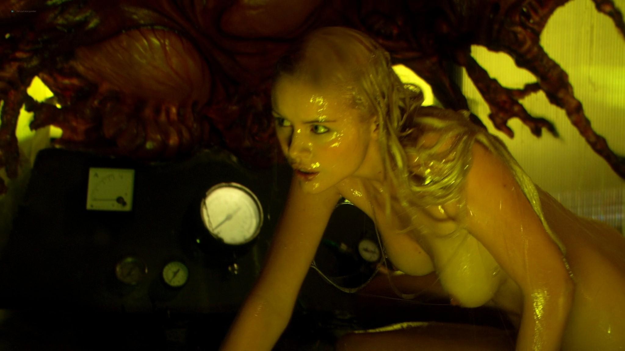 Helena Mattsson nude full frontal and Marlene Favela nude Species The Awakening 2007 HD 1080p BluRay REMUX 006