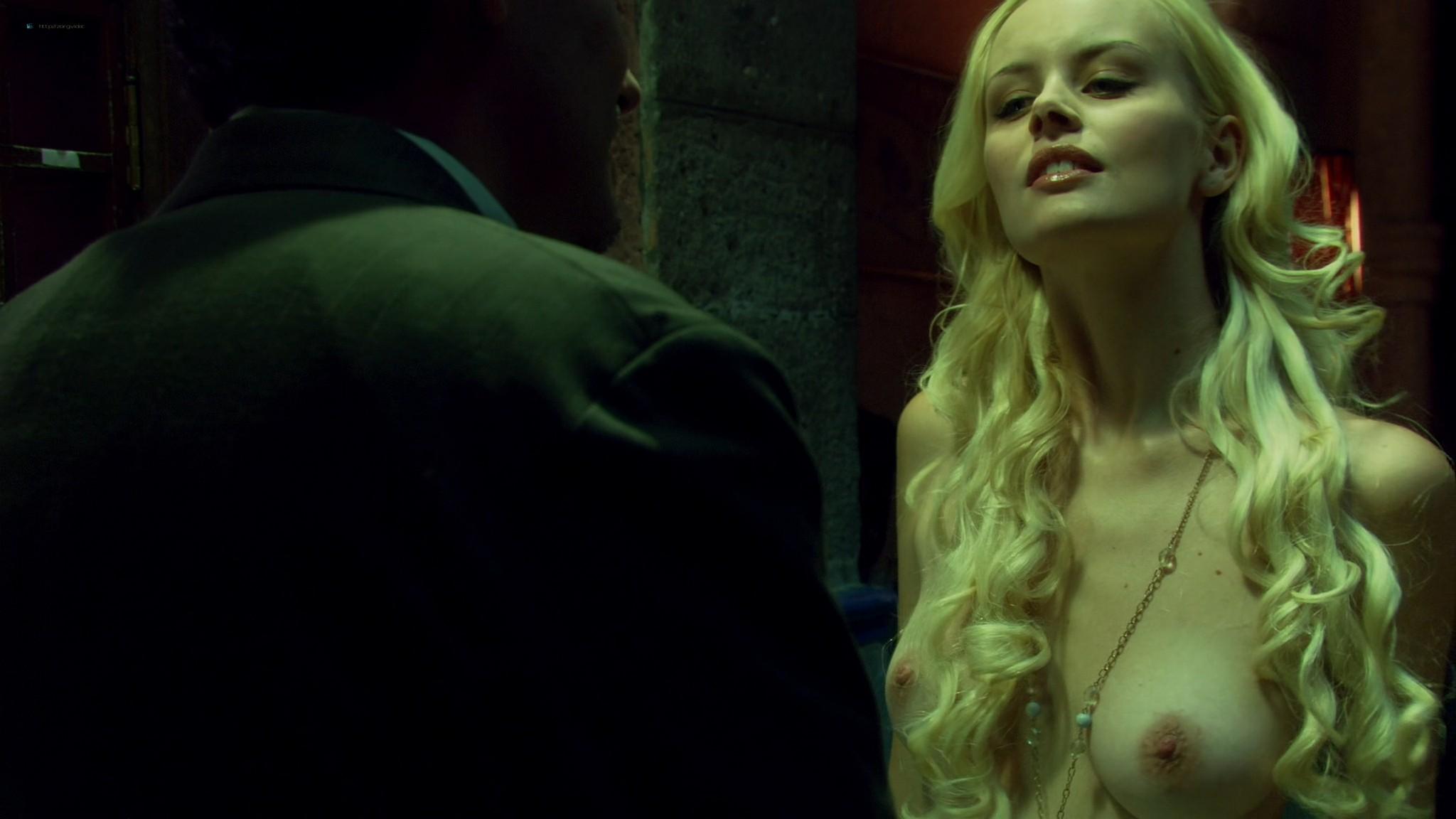 Helena Mattsson nude full frontal and Marlene Favela nude Species The Awakening 2007 HD 1080p BluRay REMUX 013