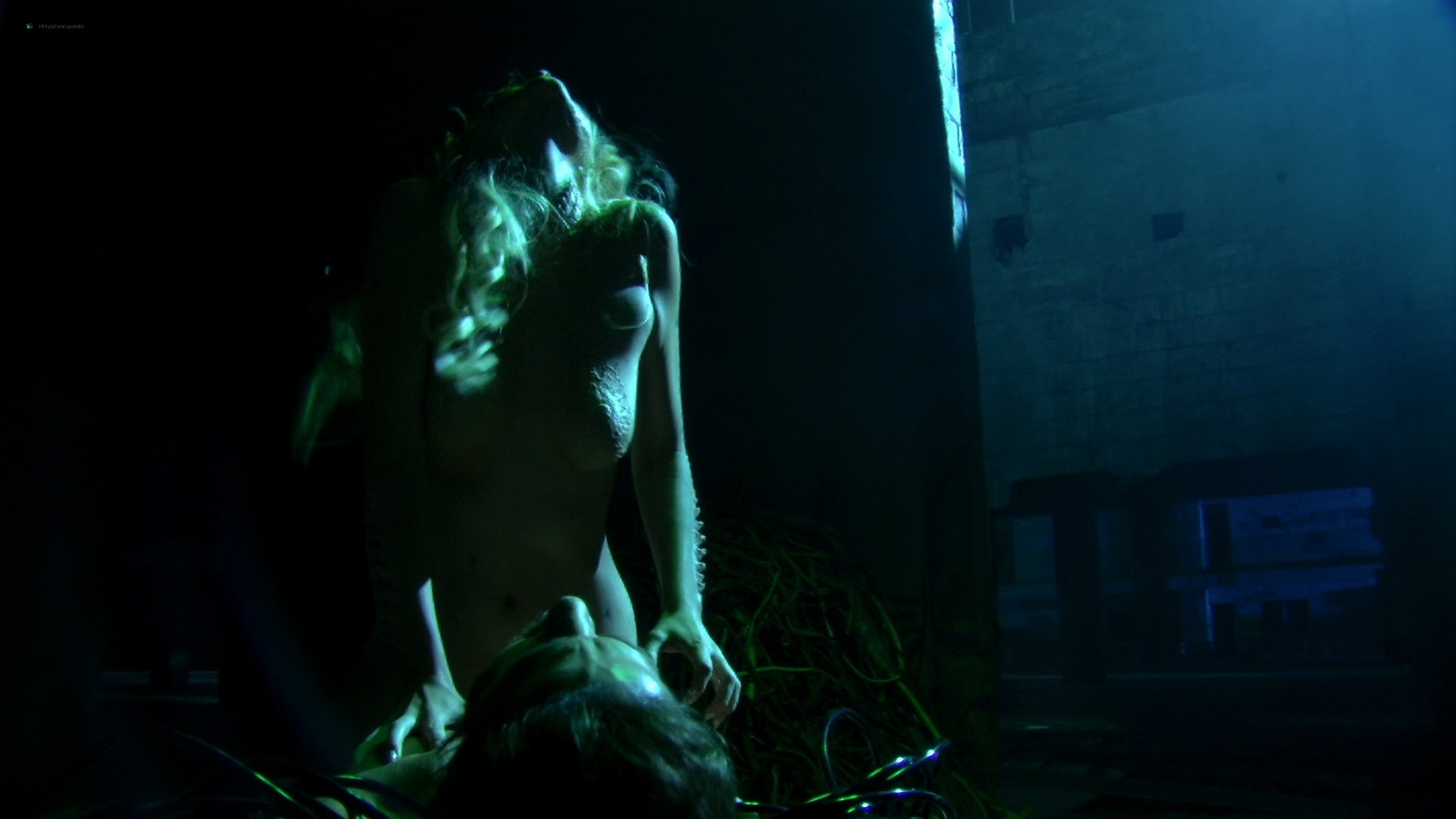 Helena Mattsson nude full frontal and Marlene Favela nude Species The Awakening 2007 HD 1080p BluRay REMUX 018