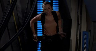 Kari Wuhrer hot and sexy Fatal Conflict 2000 012
