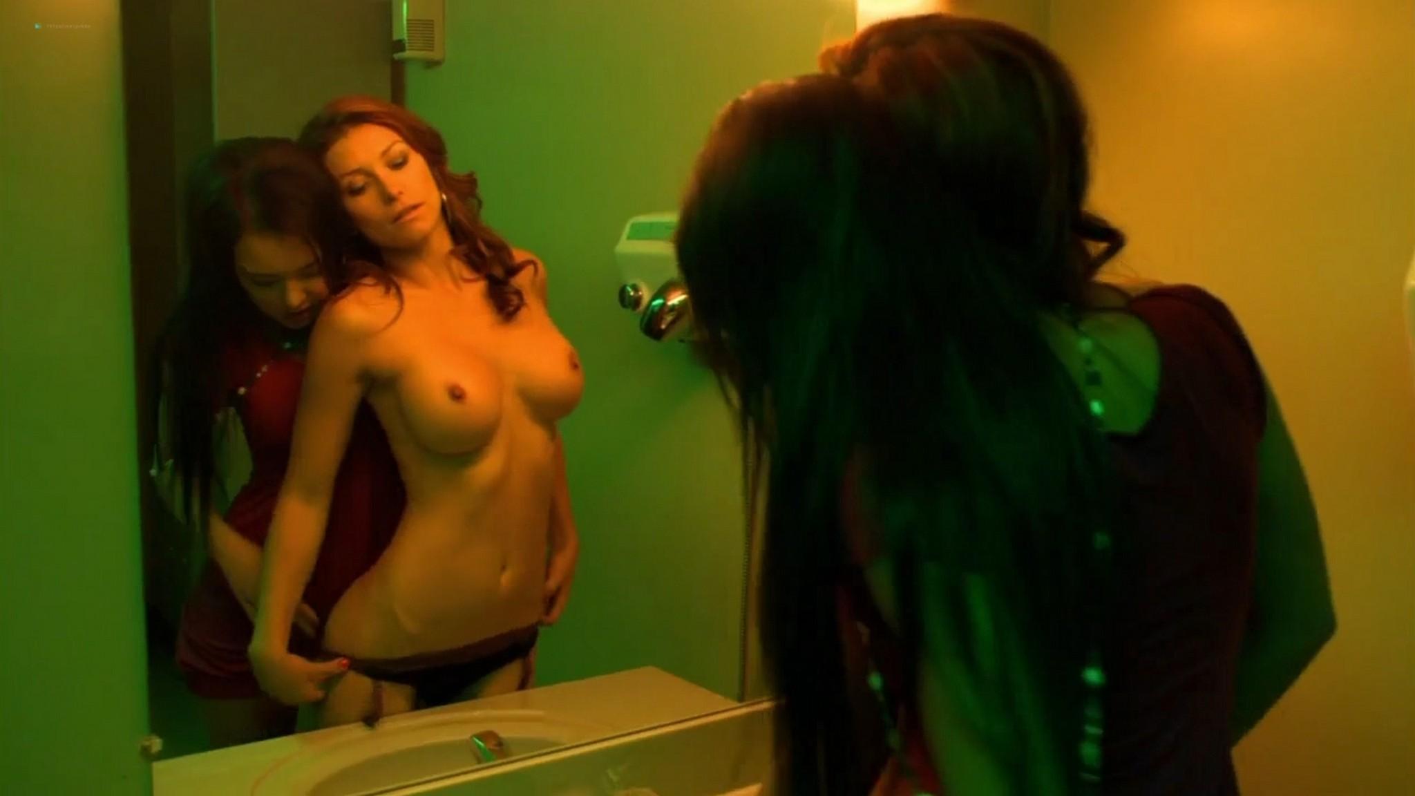 Lana Tailor nude lesbian sex Denise Cobar Erin Brown nude lot of sex Lingerie 2009 s1e11 HD 720p 010