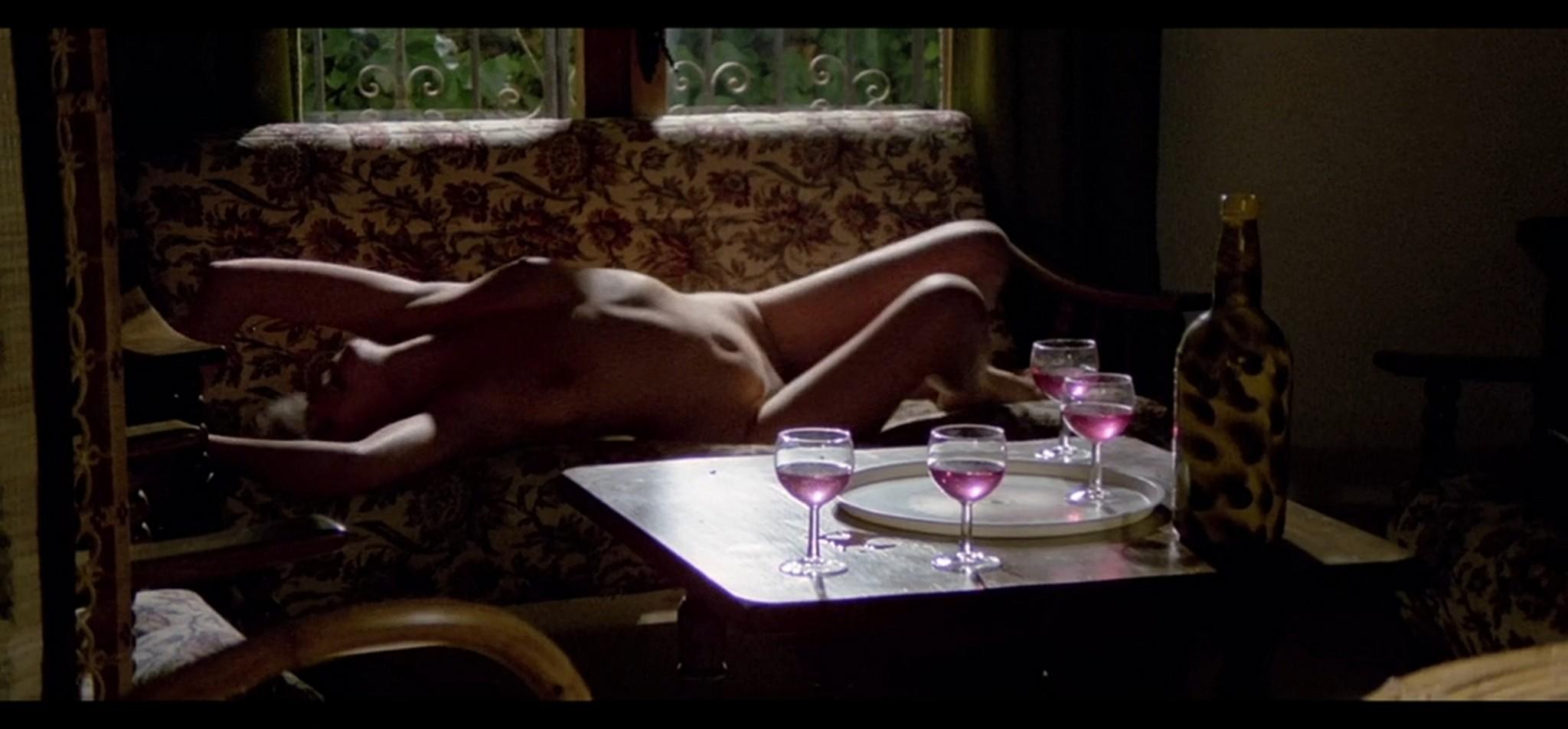 Lina Romay nude bush Elisa Vela Jasmina Bell nude sex Cries of Pleasure ES 1983 011