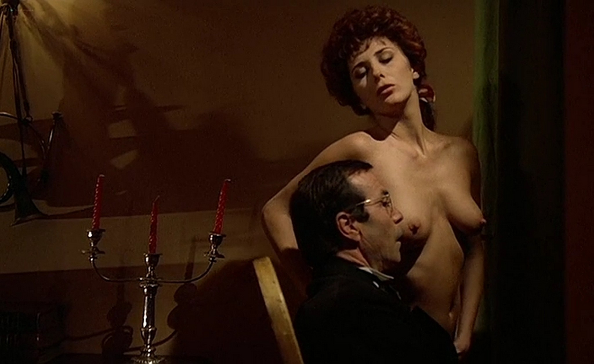 Malu nude full frontal and sex Carmen Di Pietro Micaela all nude sex The Story of Lady Chatterley IT 1989 001