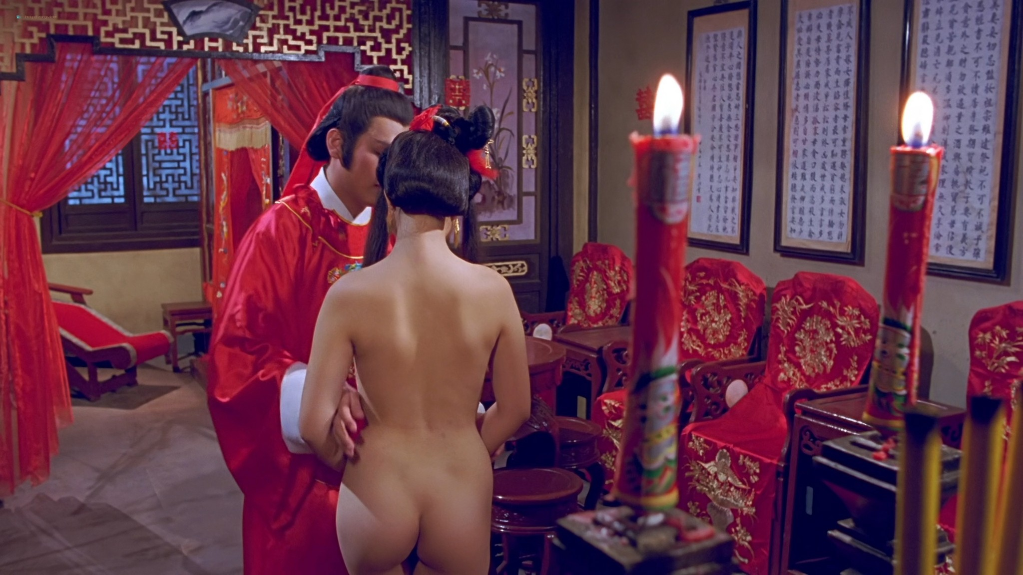 Yuen Man Cheng nude full frontal Chin Fei Lam hot sex The Carnal Sutra Mat HK 1987 HD 1080p BluRay REMUX 003