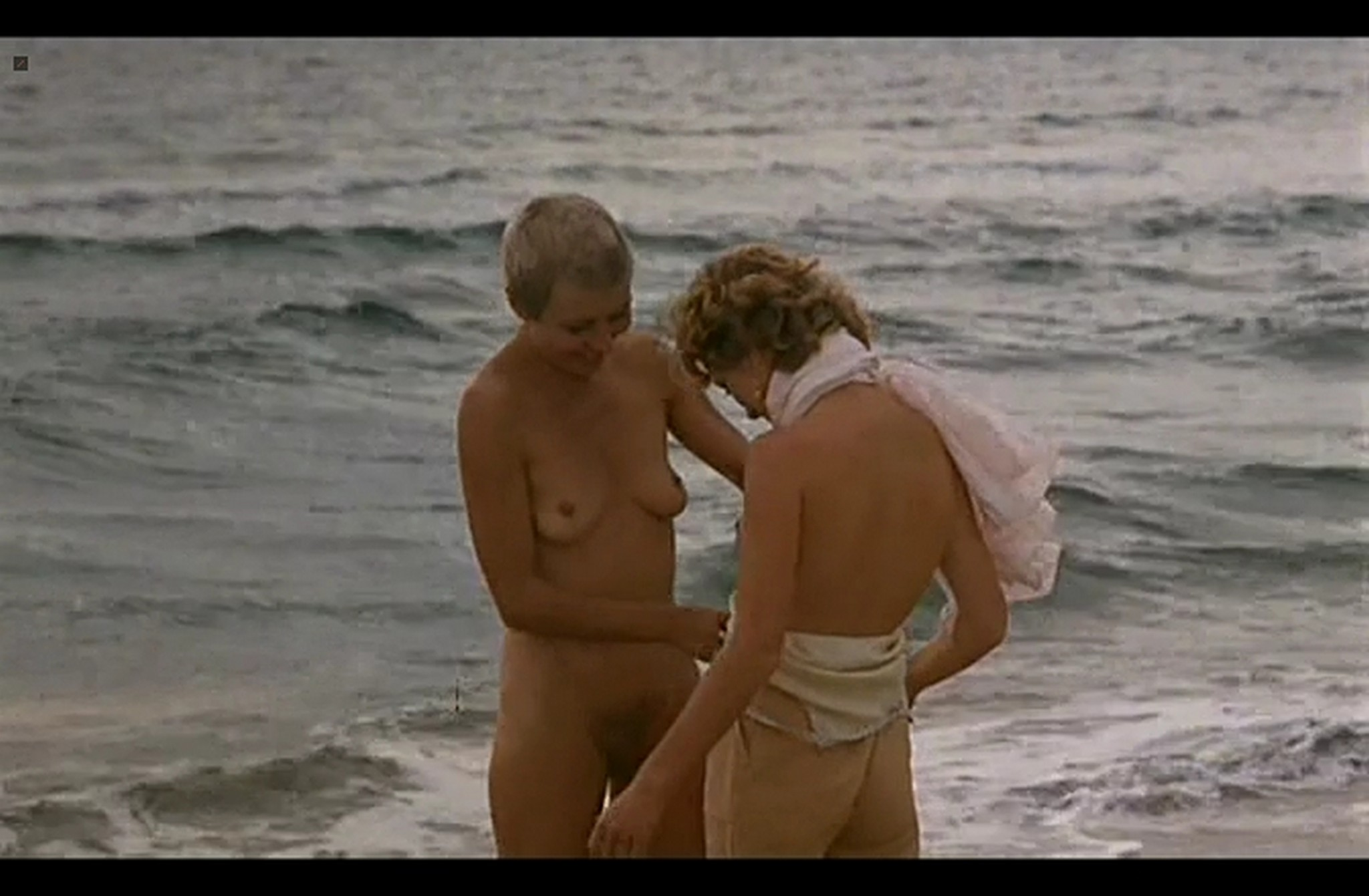 Isabelle Huppert nude full frontal and Hanna Schygulla nude bush Storia di Piera IT 1983 DvDrip 011