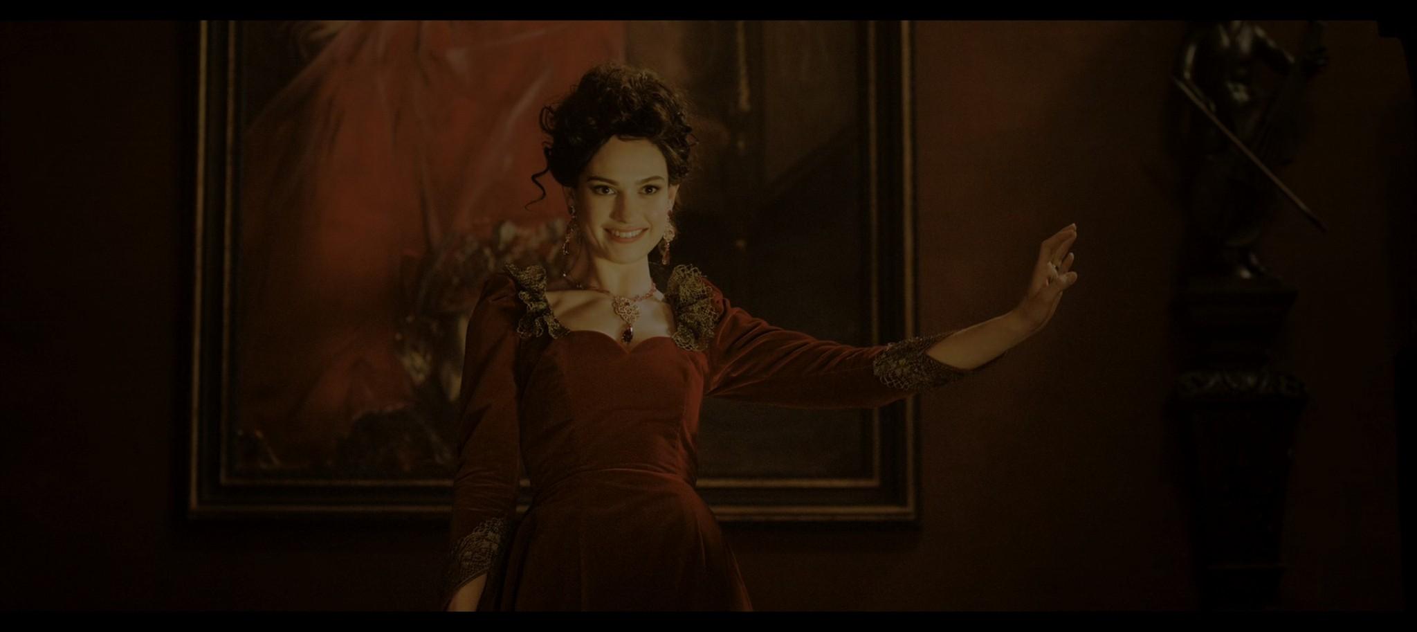 Lily James Rebecca 2020 HD 1080p Web 012