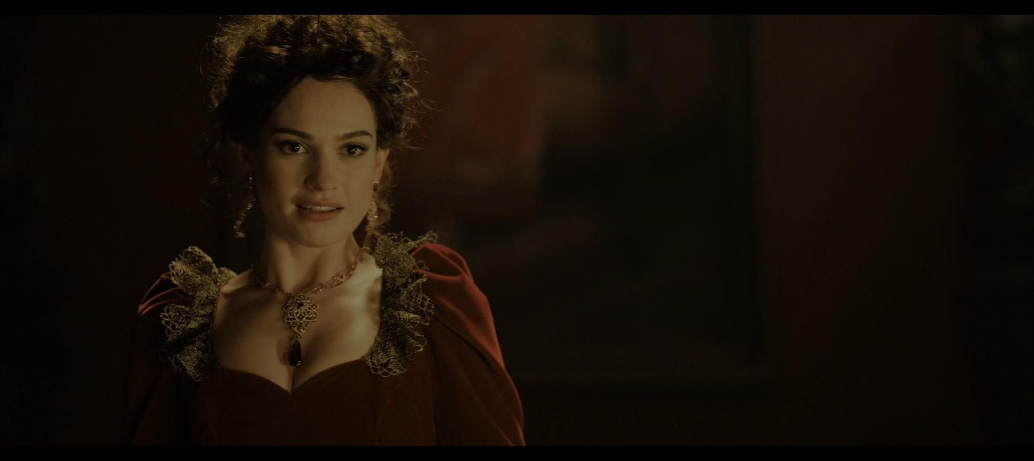 Lily James Rebecca 2020 HD 1080p Web 013