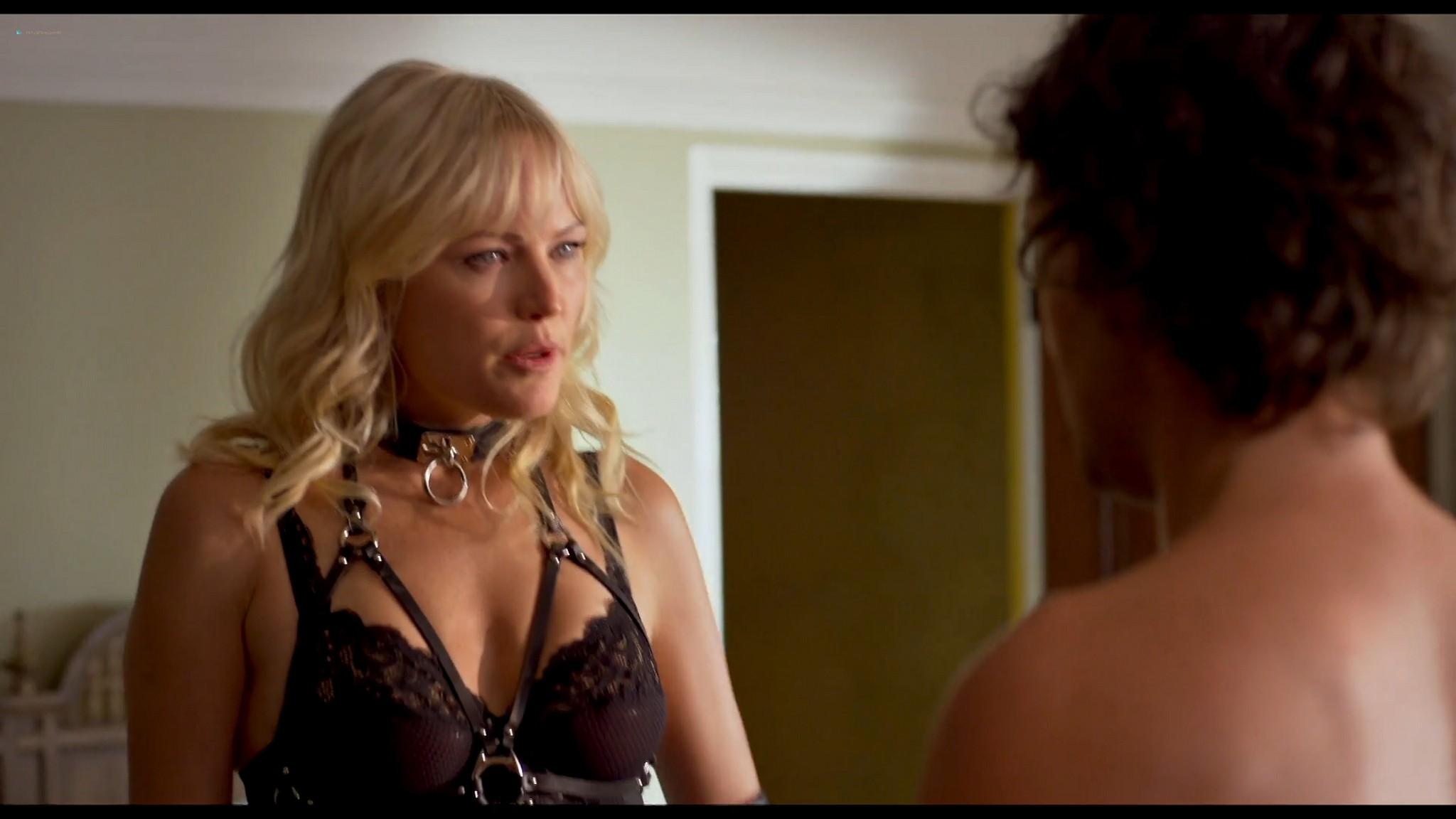 Malin Akerman hot and sexy Friendsgiving 2020 HD 1080p BluRay 003