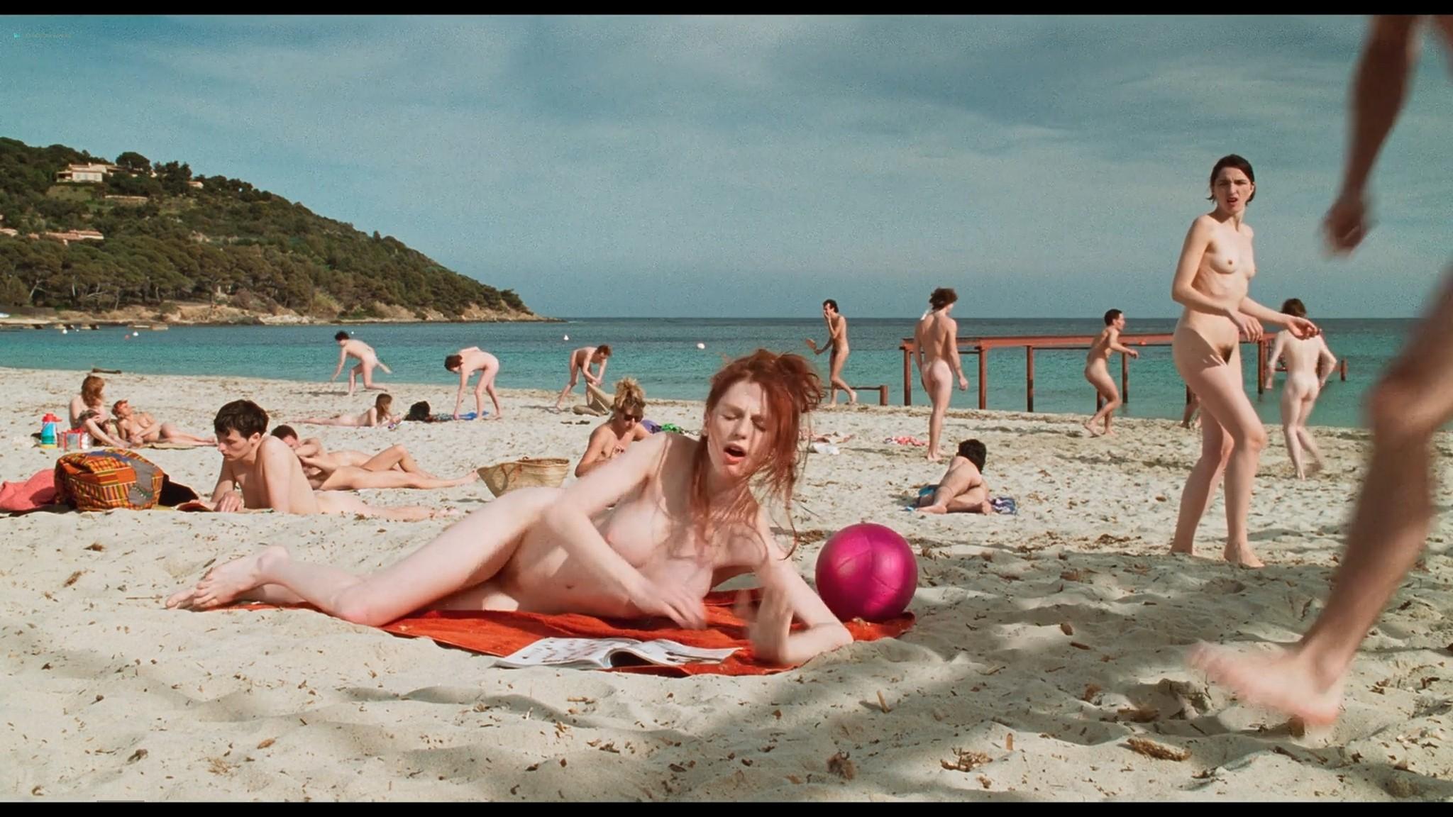 Marie Riva nude full frontal Aurelie Guichard nude Riens du tout FR 1992 HD 1080p BluRay 002