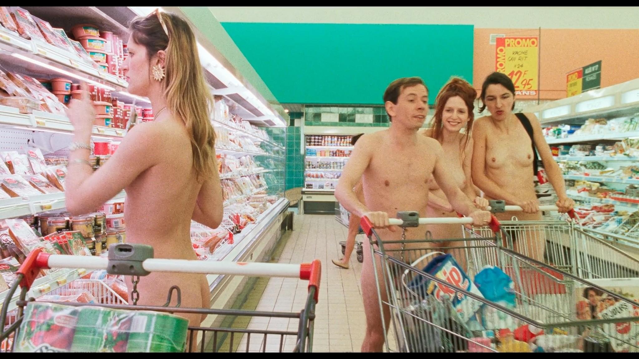 Marie Riva nude full frontal Aurelie Guichard nude Riens du tout FR 1992 HD 1080p BluRay 009