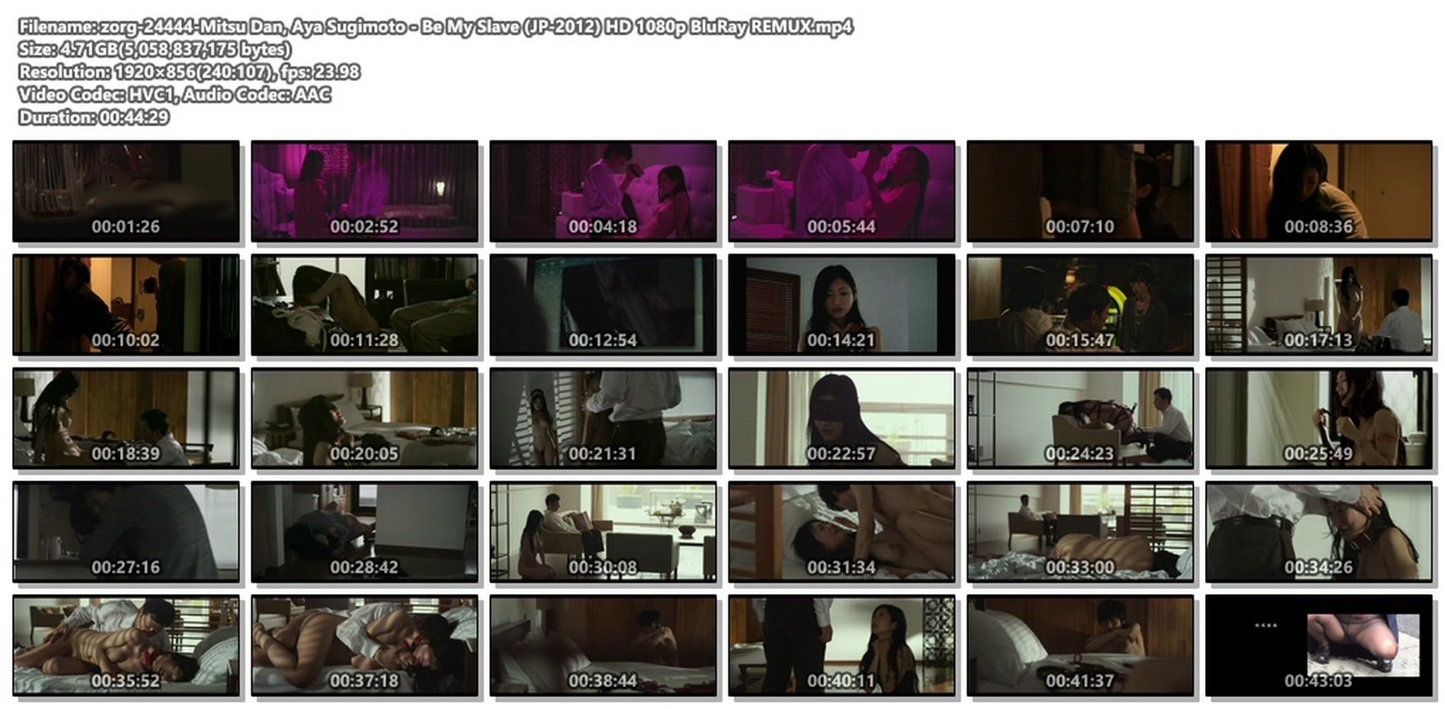 Mitsu Dan nude hot sex Be My Slave JP 2012 HD 1080p BluRay REMUX 019