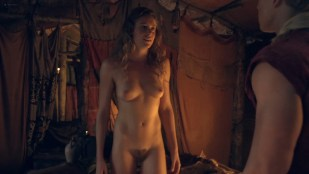 T-Ann Robson nude full frontal Gwendoline Taylor nude too - Spartacus (2013) s3e9-10 1080p BluRay