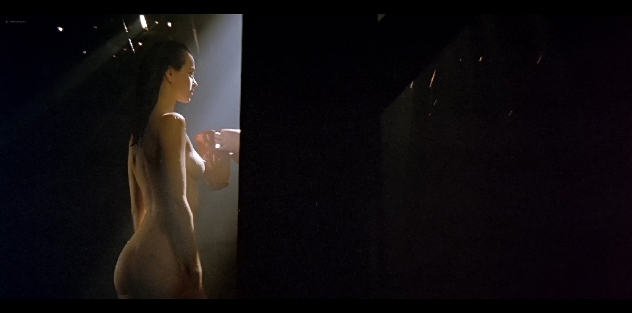 Agathe de La Fontaine nude bush another nude full frontal Train de vie FR 1998 HD 1080p BluRay 004