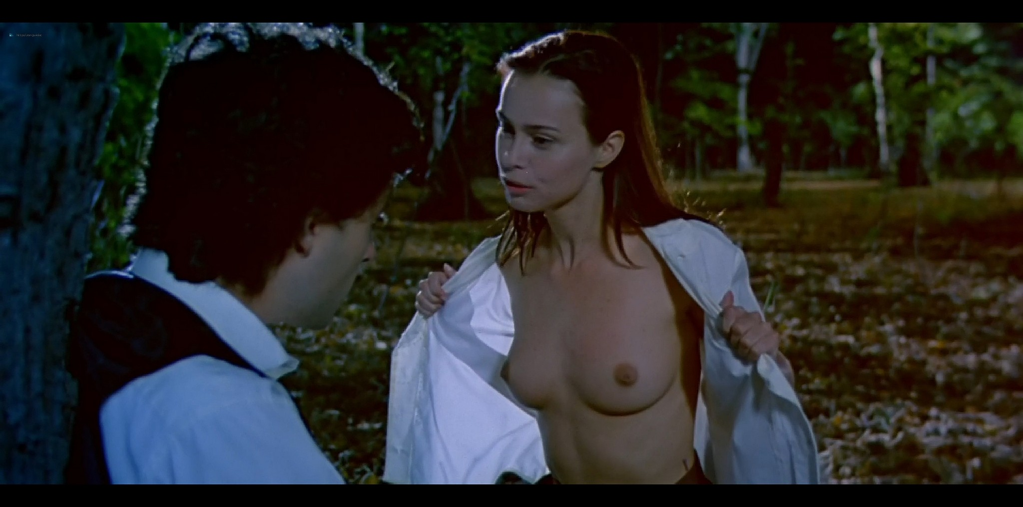 Agathe de La Fontaine nude bush another nude full frontal Train de vie FR 1998 HD 1080p BluRay 008