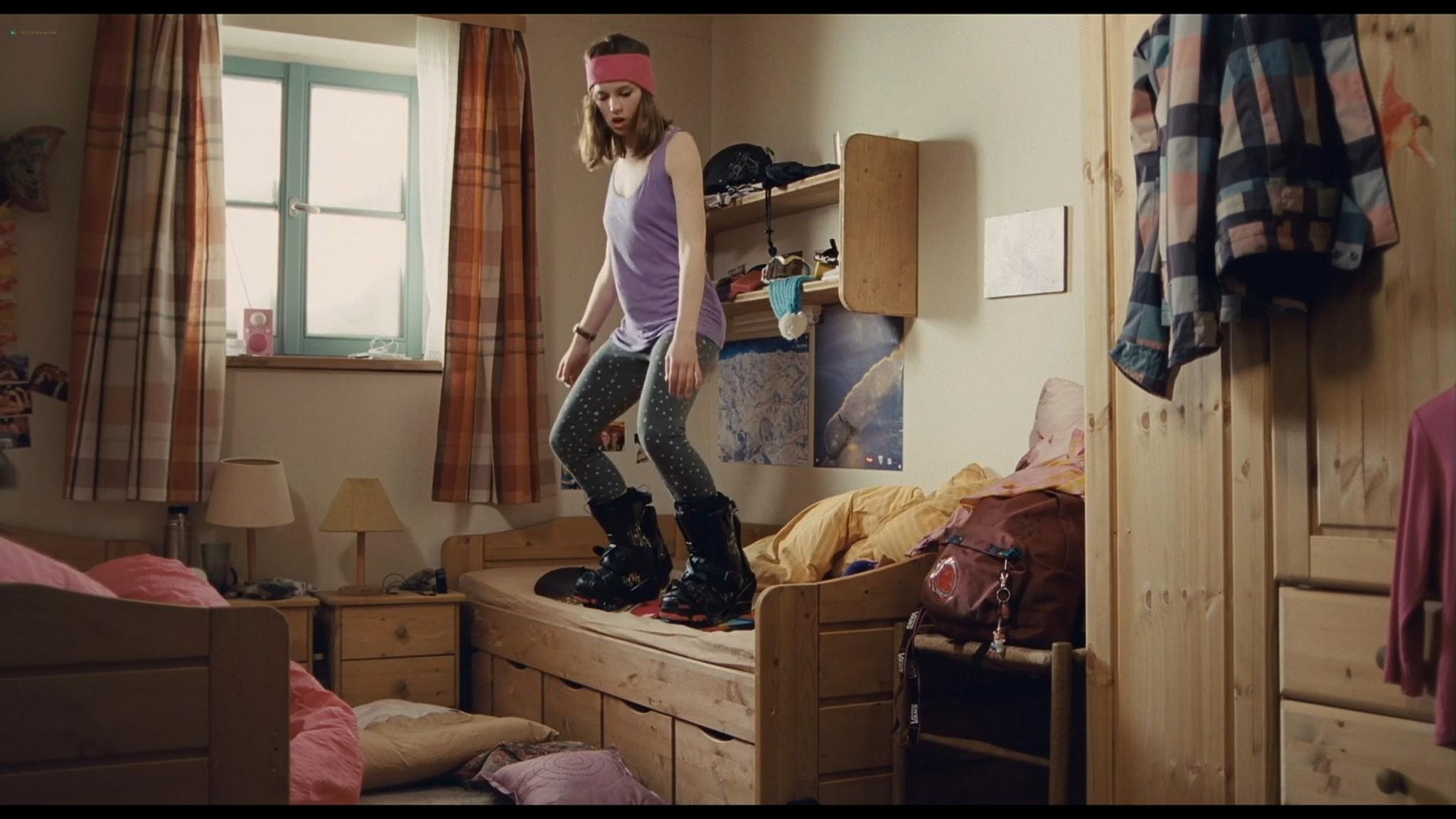 Felicity Jones nude covered Tamsin Egerton sexy Chalet Girl 2011 HD 1080p BluRay 004