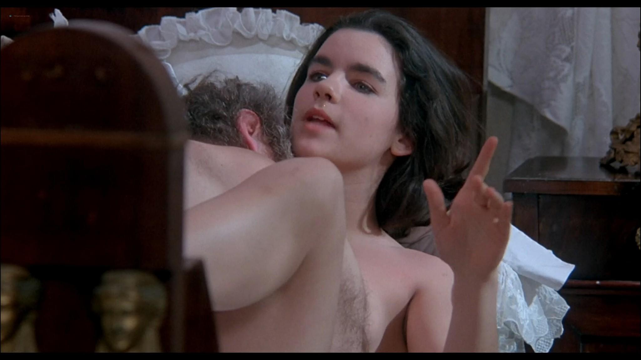 Katya Berger nude full frontal Debra Berger Mandy Rice Davies Annie Belle etc nude too Nana 1993 HD 1080p Web 011