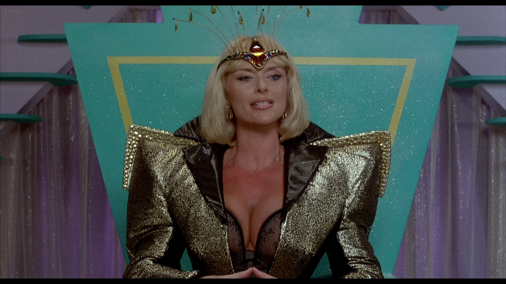 Monique Gabrielle nude full frontal Corinne Wahl and other nude and sexy Amazon Women on The Moon 1987 HD 1080p BluRay REMUX 011
