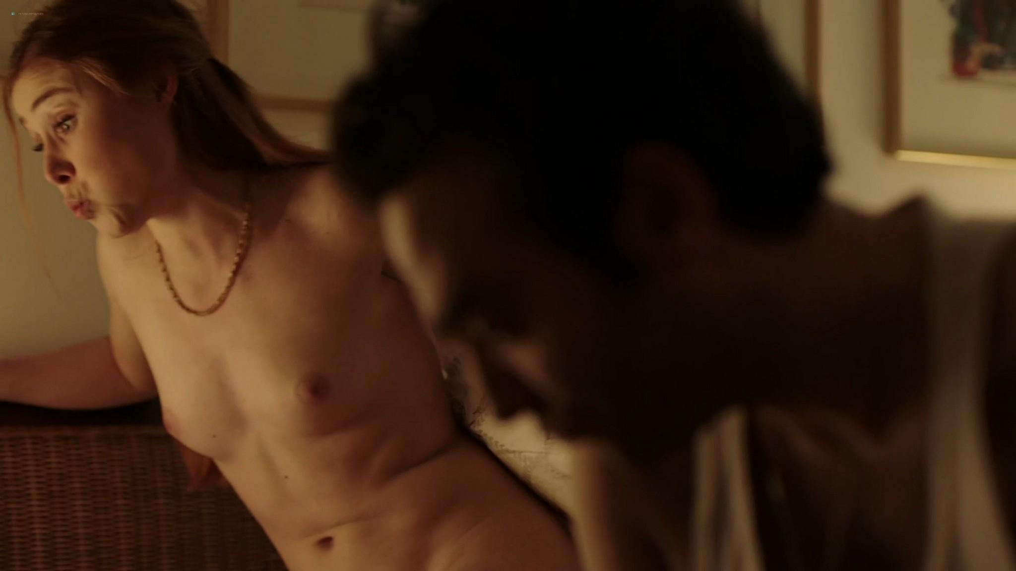 Sigrid ten Napel nude full frontal Silja Eriksen Jensen nude hot sex threesome too Kill Skills 2016 HD 1080p Web 004