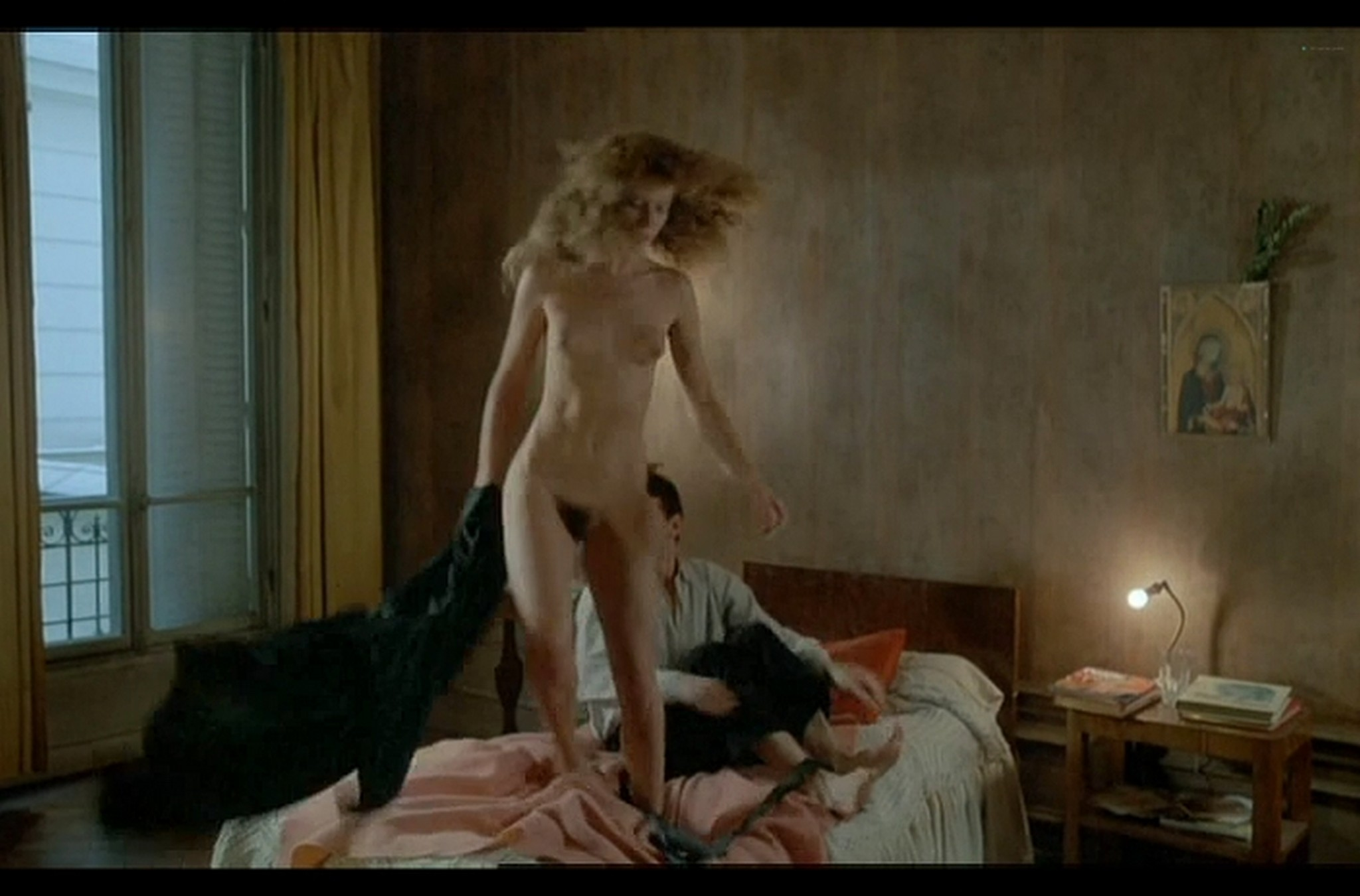 Sophie Marceau nude full frontal Christiane Jean nude too Lamour braque FR 1985 DvDrip 007